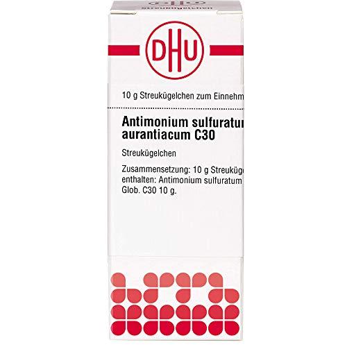 DHU Antimonium sulfuratum aurantiacum C30 Streukügelchen, 10 g Globuli