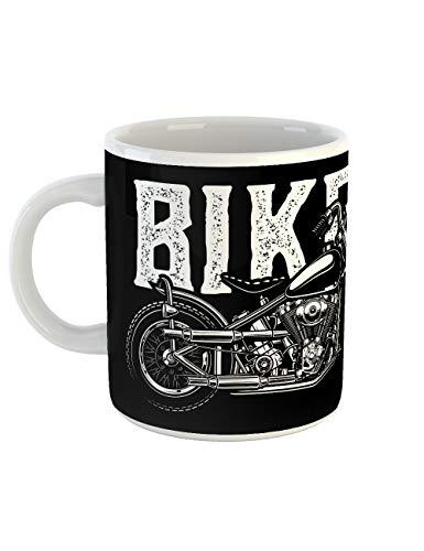 clothinx Kaffeetasse mit Aufdruck Biker