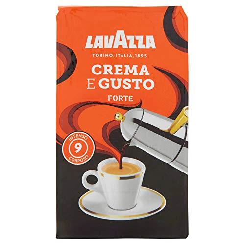 Lavazza Caffè Macinato Crema e Gusto Forte - 10 Confezioni da 250 gr [2.5 Kg]