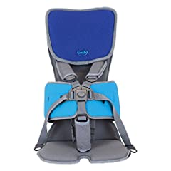 Choice of headrest - Standard or Advanced Adjustable Lateral support Portable Five point harness
