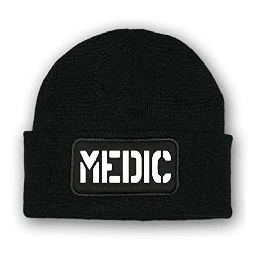 Copytec * Mütze/Beenie -Mütze Medic_Mediziener Erste Hilfe Sanni Sani USA #7082