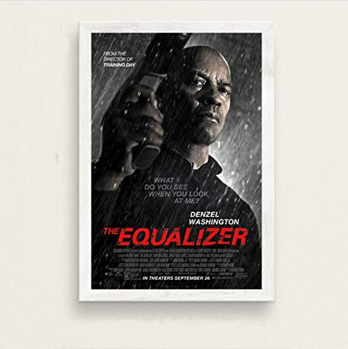 zpbzambm Cuadro En Lienzo 40X50Cm Sin Marco,El Ecualizador De Denzel Washington Film Series Art Silk Painting On Canvas Wall Poster Home Decor Zp-2209