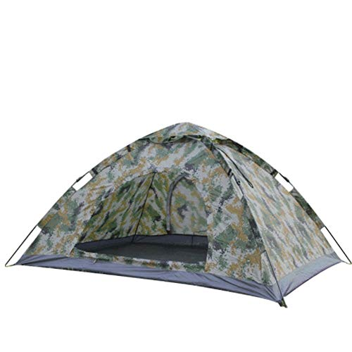 ZoSiP Outdoor Camp Folding Tent Automatic Quick Open Outdoor Camping Camo Ultralight Tent (Color : Camouflage, Size : 200x150x100cm)