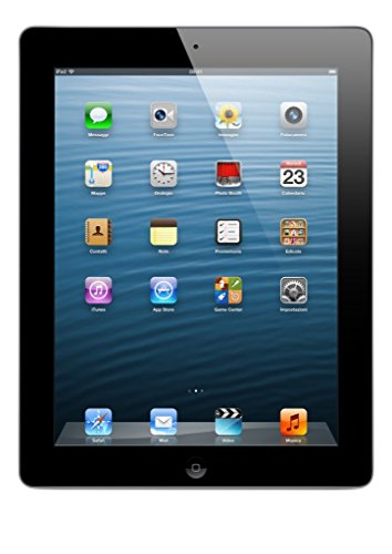 Apple iPad 4 16 GB, Wi-Fi, A6X, Tablet 24,6 cm 9,7in