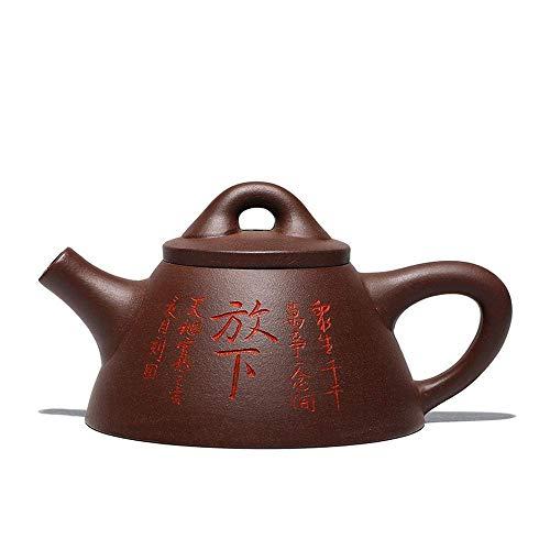Servizio da tè Servizio da tè Lancio di un nuovo p New Zen Stone Scoop Five-Color opzionale Overlord Scoop Scoop Purple Sabbia Pentola Yuan Youjun Pot Handmade Venducato all'ingrosso per conto di cons