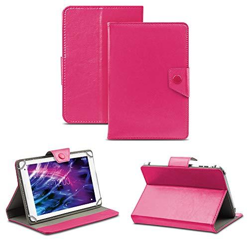 NAUC Tablet Hülle für Medion Lifetab P8514 P8314 P8312 P8311 Tasche Schutzhülle Case Cover, Farben:Pink
