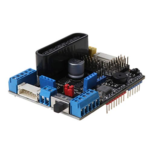 PING TB6612FNG Motor Driver Board V3.0 with PSX2 IR Recriver for Arduino-R3 Support 8 Servo