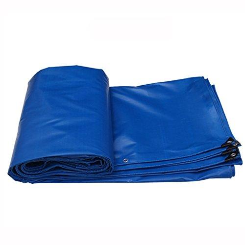 PVC-Plane Plane Wasserdichte schwere Carport Garten Pavillon Markise Party Zelt Camping und Schwimmbad Staubschutz Bodenbelag Schuppen Tuch (Farbe : Blau, größe : 3 * 3m)
