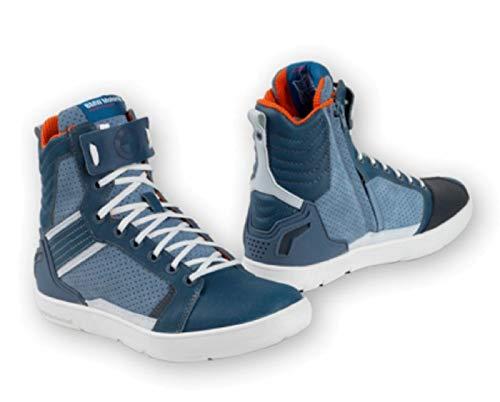 BMW Sneaker Ride Unisex blau Motorradschuhe mit Protektoren Größe/Size Schuhe/Boots 44
