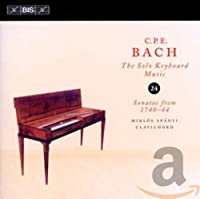 C.P.E.バッハ:鍵盤独奏曲全集Vol.24 (C.P.E.Bach: Solo Keyboard Music Vol.24 / Miklos Spanyi) [輸入盤]