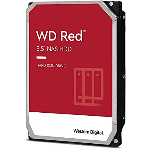"WD Red 2TB Disco duro interno NAS 3.5"" - 5400 RPM, SATA 6 Gb/s, SMR, 256MB Cache - WD20EFAX"