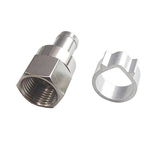 フジパーツ/アンテナ接栓10個入り 5C用F型接栓[バルク]