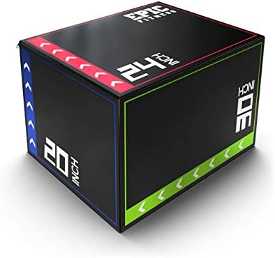 Epic Fitness 3 in 1 Foam Plyometric Box Jumping Exercise Trainer Regular 16 lbs product image