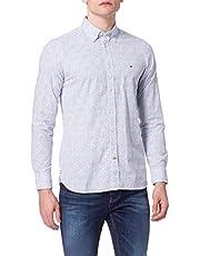 Tommy Hilfiger Slim Micro Floral Print Shirt Chemise Homme