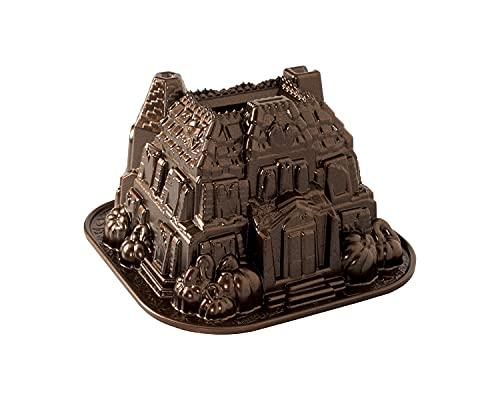 Nordic Ware Haunted Manor Bundt Pan, One, Bronze