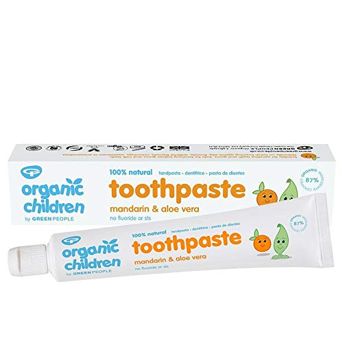Green People Organic Children Mandarin & Aloe Vera Toothpaste - 50ml