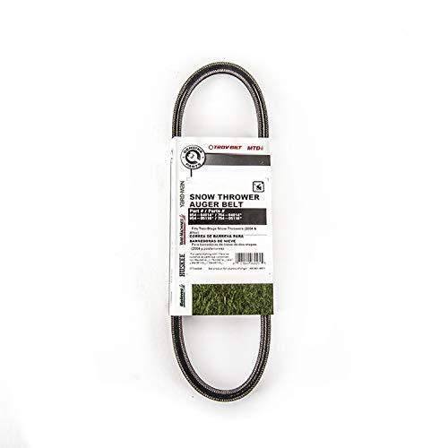 MTD Genuine Parts 490-501-M071 Snow Thrower Auger Belts