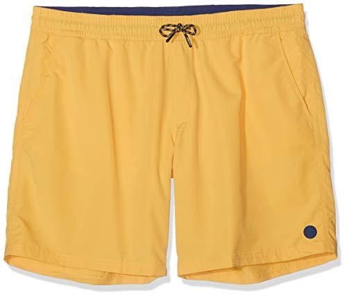 s.Oliver Big Size Herren 28.905.70.5816 Badeshort, Gelb (Yellow Friend 1425), Herstellergröße: XX-Large
