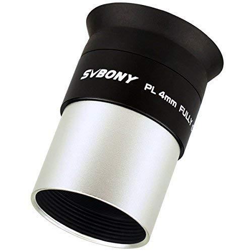 "SVBONY Telescopes Eyepieces 1.25"" Lens 4mm Multi Coated Telescope Lens for Celestial Nebula Observations"