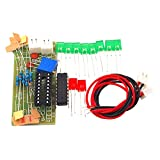 Timetided Lm3915 Kit de indicador de Nivel de Audio de 10 segmentos Divertido / Indicador de Nivel...