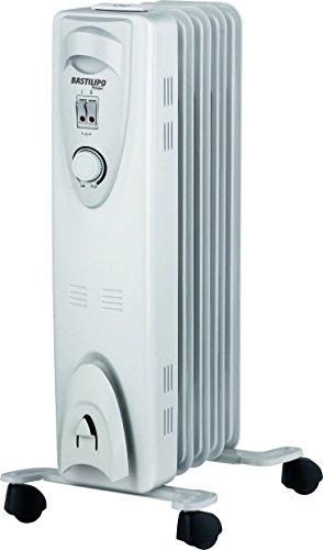 Bastilipo RAC5-1000 Radiador de Fluido, 1000 W, Blanco