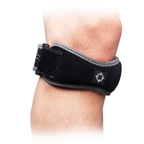 WBBHX Knochen Knochen Gürtel, Badminton/Tennis Stoßdämpfer Knie Übung Protector Einstellbare Fitness Druck Gürtel Basketball Ausrüstung