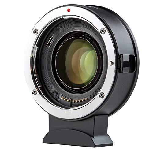 VILTROX EF-Z2 スピードブースター 0.71X AF レンズマウントアダプター Canon EFレンズ→Nikon Zマウントカメラ変換 マウントアダプター 瞳AF対応 電子接点あり IS手ぶれ補正 Z6 Z7 Z50 日本語取扱説明書付き