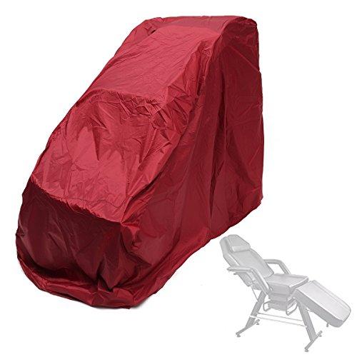 Yanshan Housse de protection pour fauteuil de massage Etui à fermeture à glissière universelle (Color : ColorWine red)