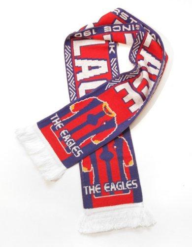 Crystal Palace | Fan Scarf | Premium Acrylic Knit