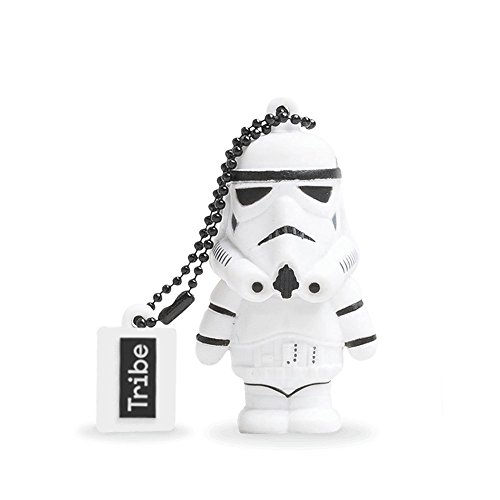 Llave USB 16 GB Stormtrooper - Memoria Flash Drive 2.0 Original Star Wars, Tribe FD007502