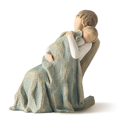 Willow Tree hand-painted sculpted figure, The Quilt (26250)