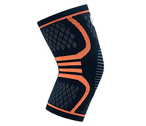 Nyg Sports Compression Knee Sleeve for Stabilizing and Recovery for Men, Women and Knee Support for Arthritis, Running, Weight Lifting and Jogging (Small)