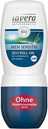 Lavera Deo Roll-on Men Sensitiv 3er Vorteilspack (3 x 50ml)