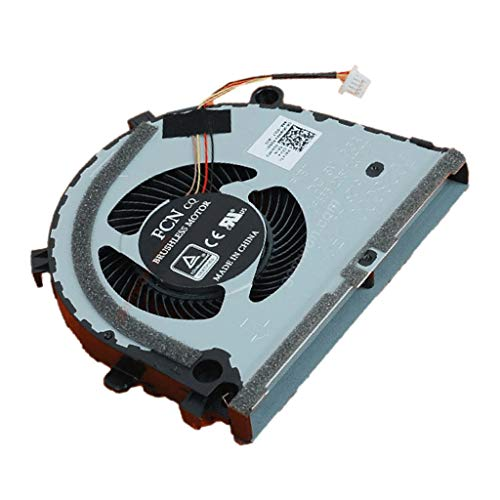 gazechimp Para Dell G3-3579 3779 G5 5587 15 5587 Series Laptop CPU 3 Pins Cooling Cooler