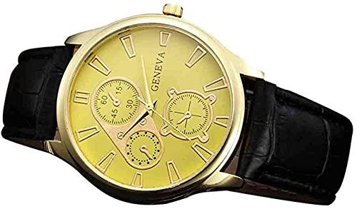 JZDH Mano Reloj Reloj de Pulsera Listado de Hombres Relojes de Lujo Reloj de Cuarzo Reloj de Cuero de Moda Mira el Reloj de Pulsera de Deportes Barato Relogio Masculino Relojes Decorativos Casuales