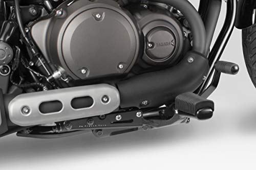 XV950R 2014 - Kit Umpositionieren Befehle Original (S-0709) - Fußrasten Fußstützen Fussstützen Fussrasten - inkl. Hardware-Bolzen - Motorradzubehör De Pretto Moto (DPM Race) - 100% Made in Italy