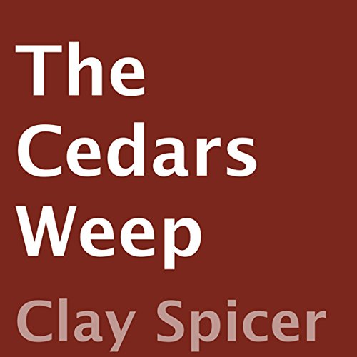 The Cedars Weep audiobook cover art
