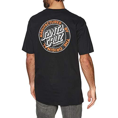 Santa Cruz Mfg Dot - Camiseta de manga corta