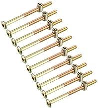 10 Tornillos de cabeza plana con brida TX M6x22 plana tornillo de brida ISO 7380-2 acero inoxidable A2 V2A rosca completa tornillo de lenteja