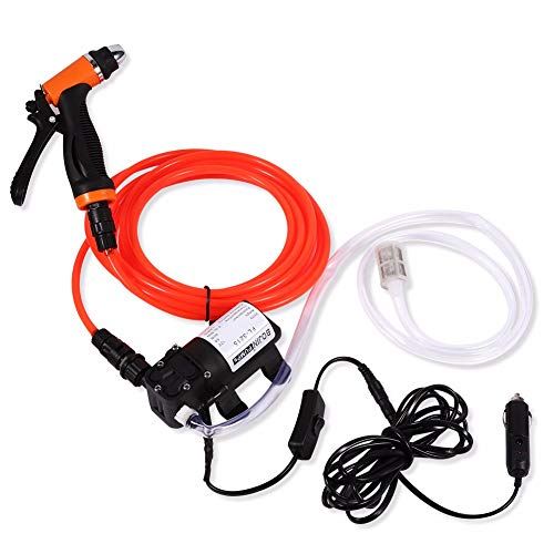 Sale!! WG High Pressure Water Pump Car Self-Priming Electric Car Wash Washer 12V Washer Washing Mach...