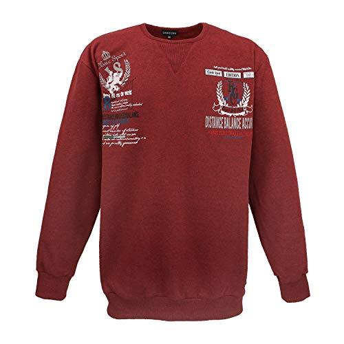 LV-603 Sweatshirt Bordo-Rot (8XL)