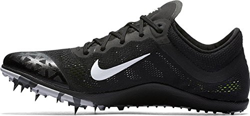 Nike Herren Zoom xc Laufschuhe, schwarz weiß Dunkelgrau Wolf Grau, 42 EU