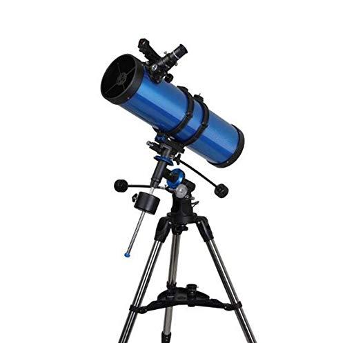 TÉLESCOPE Le Télescope Astronomique 观 Professionnel HD l'espace Lointain Scanner Équatoriale Eq 130 Adultes Gros Calibres