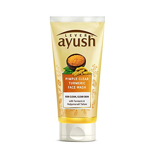 Ayush Anti Pimple curcuma Face Wash, 80g