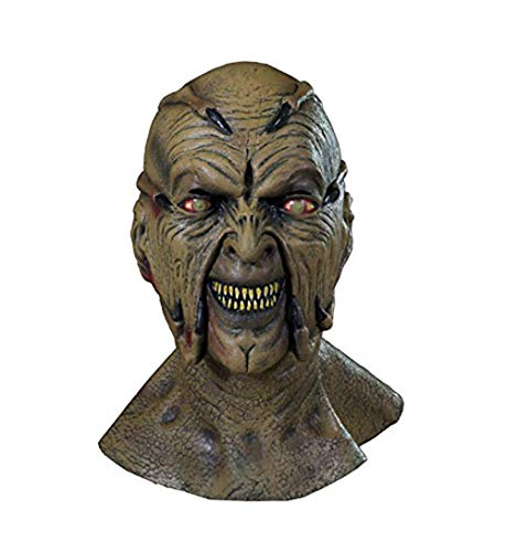 Trick or Treat Studios Jeepers Creeper Movie Quality Face Mask for Halloween, Beige, One Size