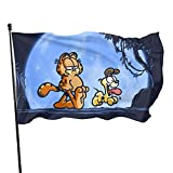 Classic Garfield Hakunaflag Decorations Party Cosplay Game Flags For Home House Garden Outdoor Indoor Decor 3x5ft