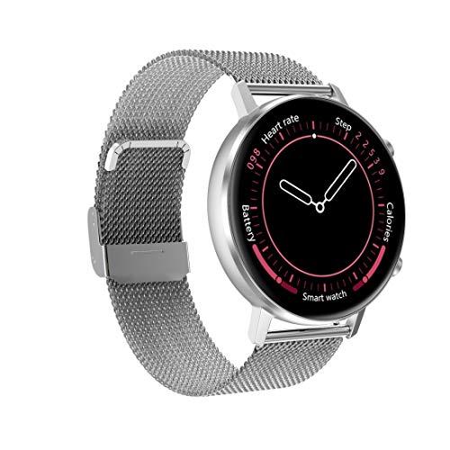Pulsera en forma IBHT 1,3 pulgadas de pantalla redonda color Ajustes del reloj, IP68 a prueba de agua, control de la presión de apoyo del ritmo cardíaco Sangre / Recordatorio sedentario / Monitoreo de