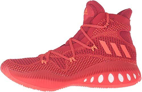 Schuhe Adidas Crazy Explosive Primeknit, rouge clair/rouge foncé/rouge solaire, 49 1/3