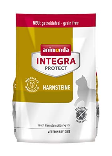 animonda Integra Protect Harnsteine, Spezial-Katzenfutter, Trockenfutter zur Vorbeugung eines Harnweginfekts, mit Geflügel , 1,2 k g