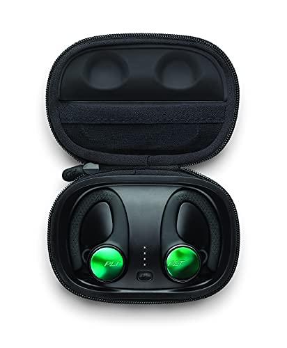 Plantronics BACKBEAT FIT 3150 Cuffie sportive Bluetooth 'True Wireless', In Ear, IP57, clip per orecchio, nero
